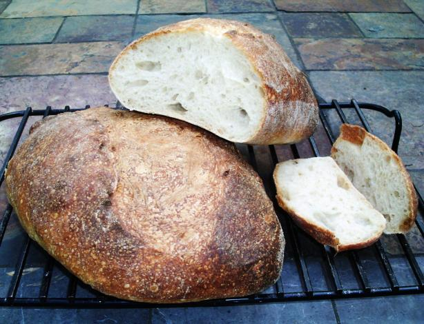 Basic Sourdough Bread - 1, 2, 3 Method. Photo by Red Apple Guy