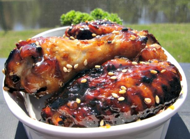 Sweet Soy-Glazed Chicken Wings. Photo by diner524