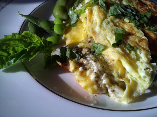 Creamy Goat Cheese Pesto Omelet (Ww 10 Pointsplus) (See directions and ...
