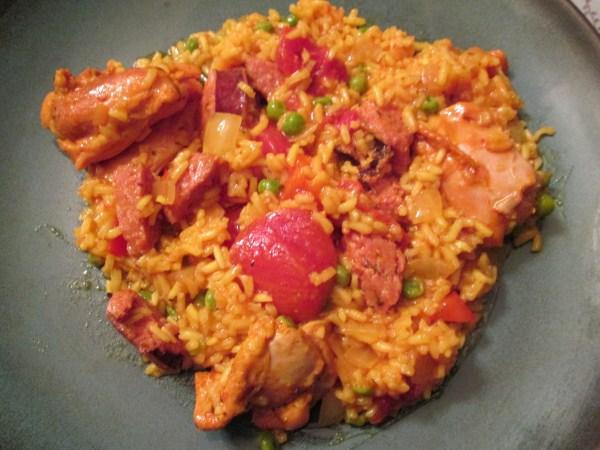 Spanish Chicken and Rice. Photo by Nancy's Pantry
