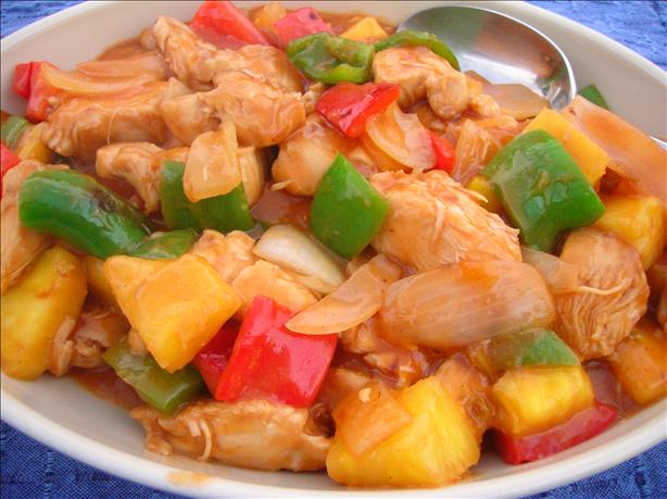 Sweet and Sour Chicken. Photo by Pam-I-Am