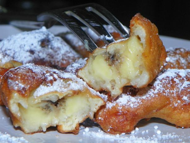 Low Fat Banana Fritters Recipe — Dishmaps