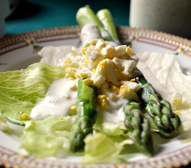 Artichoke and Asparagus Salad. Photo by Andi of Longmeadow Farm