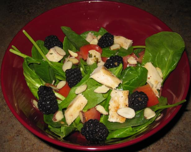 Grilled Chicken And Blackberry Salad Recipe - Food.com