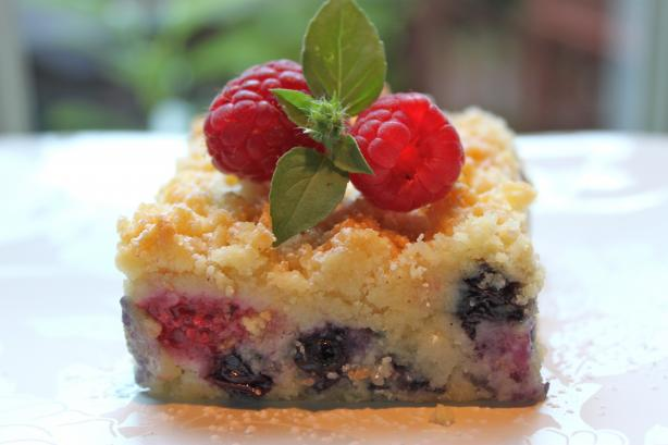 Austrian Raspberry/Blueberry Shortbread. Photo by The Cafe Sucre ...