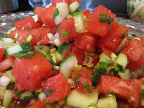 Cucumber N Watermelon Salad A Summer Delight!!!!! Recipe - Food.com