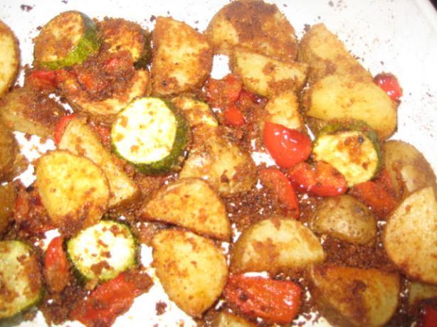 zucchini and potato