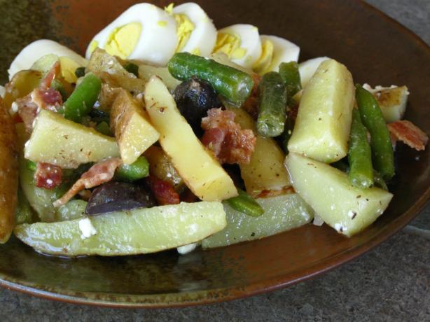 Fingerling Potato Salad With Honey-Thyme Vinaigrette Recipe - Food.com