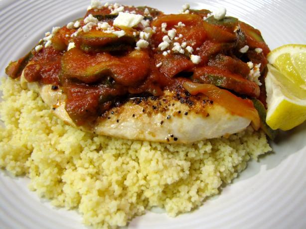 Greek-Style Chicken Skillet Recipe - Food.com