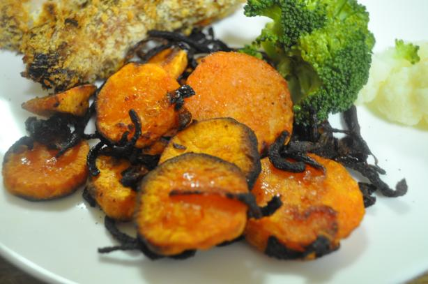 Roasted Sweet Potato Rounds Recipe - Food.com