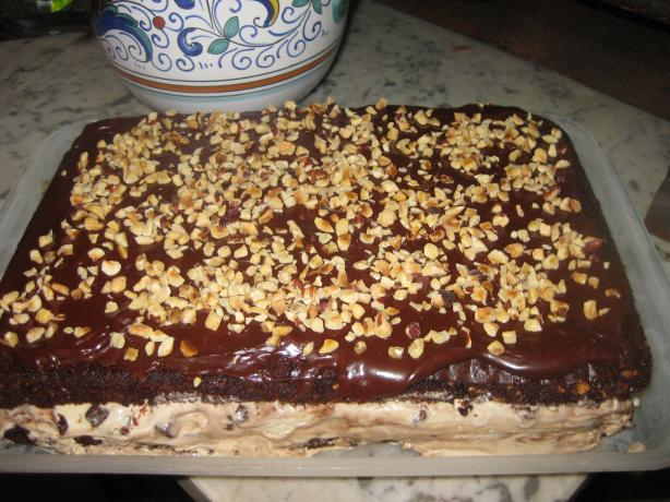 Chocolate Coffee Ice Cream Cake. Photo by La Dilettante