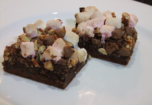 Rocky Road Brownies. Photo by Sara 76