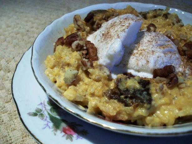 Brown Rice Pumpkin Pudding Recipe - Food.com