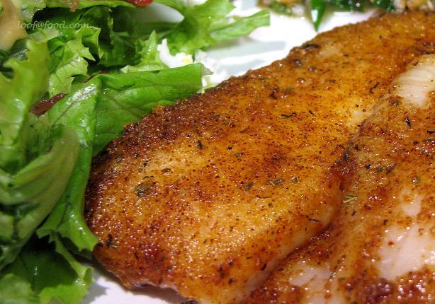 Fried tilapia fish for Pan fried fish recipe