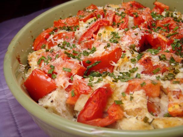 Tomato Gratin. Photo by Lori Mama
