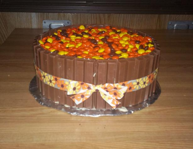 Reese S Pieces Ice Cream Cake Recipe