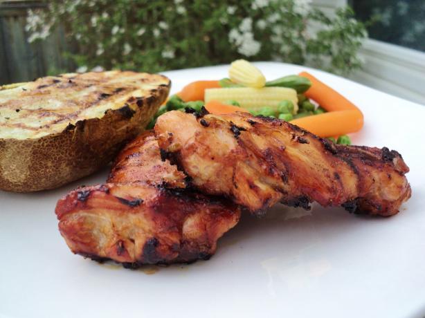 Honey-Glazed Grilled Chicken Recipe - Food.com