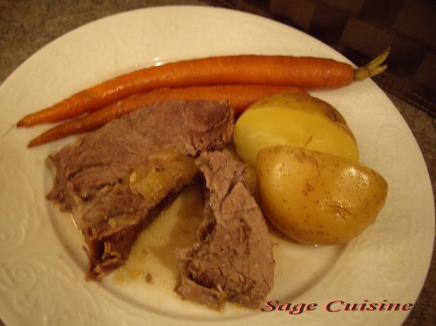 Beef Pot Roast With Root Vegetables Recipe - Food.com