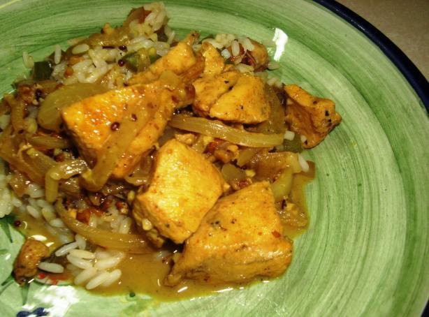 Kashmiri Curry Chicken. Photo by Karen Elizabeth