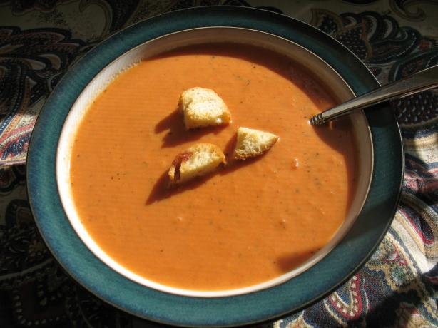 Nordstrom's Tomato Basil Soup, Small Batch. Photo by Chicagoland Chef ...