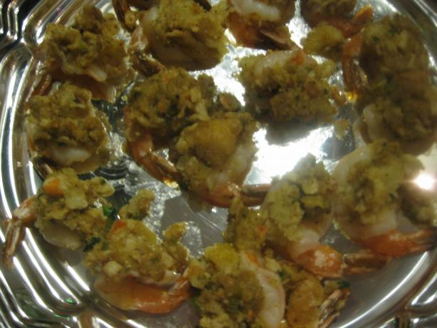 Baked Stuffed Shrimp Recipe from Cooklime, ingredients, easy, recipe ...