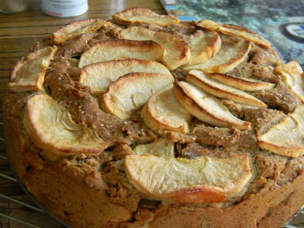 Apple Coconut Cake (Gf, Cf, Vegan). Photo by WhiskingWings