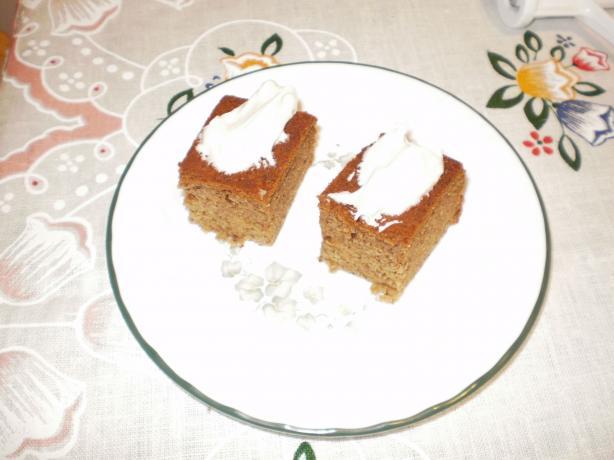 Moist Banana Slab Cake