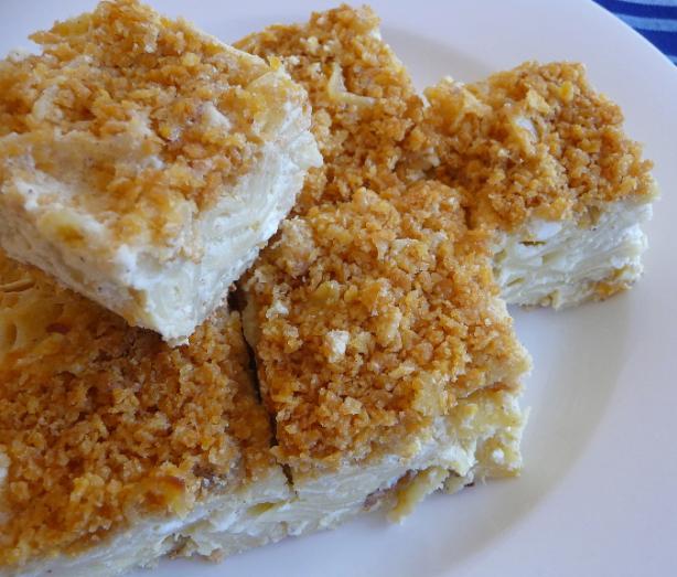Rebeccas Sweet Lokshen Noodle) Kugel Recipe - Food.com