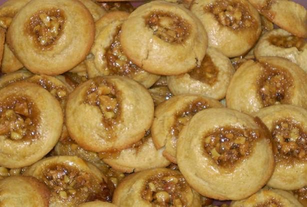 Caramel Pecan Sticky Bun Cookies. Photo by Karen=^..^=