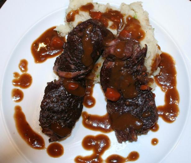 Red Wine Braised Short Rib. Photo by Thyme Savours