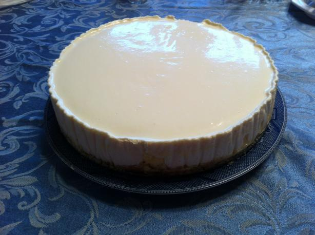 Sour Cream Cheese Cake (See directions and all recipe info)