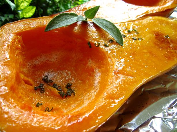Roasted Winter Squash With Browned Butter and Sage (See directions and ...