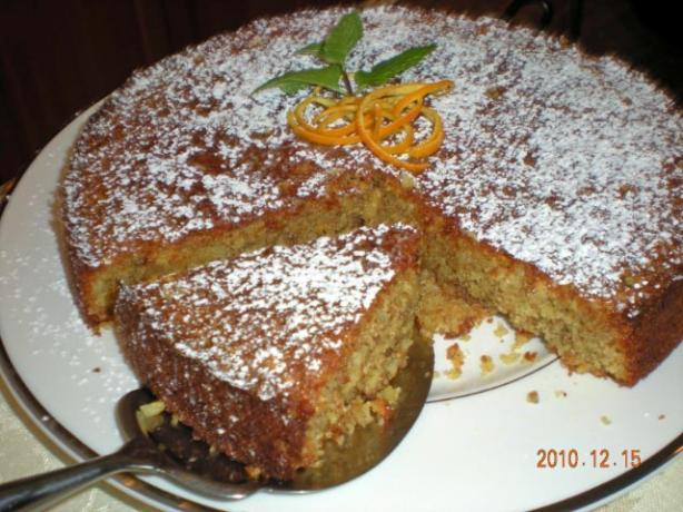 moroccan orange and almond cake recipe