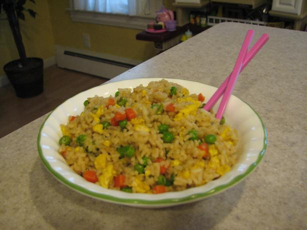 Easy Eggy-Veggie Fried Rice Recipe from Cooklime, ingredients, easy ...