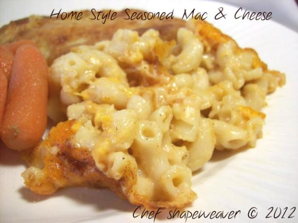 Home Style Seasoned Mac And Cheese Recipe - Food.com