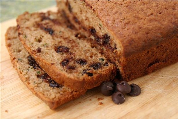 Amy's Chocolate Chip Zucchini Bread. Photo by danlynclark