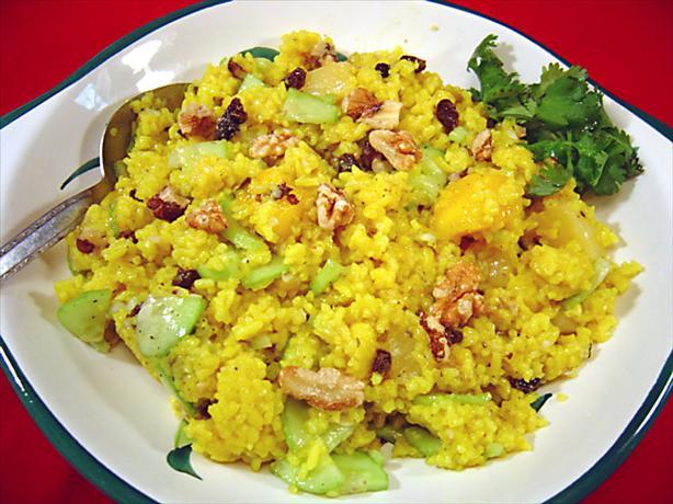 Hawaiian Rice Salad. Photo by Sue Lau