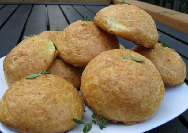 Thyme Gougeres. Photo by K9 Owned