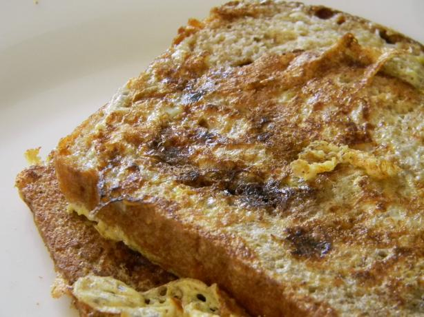 Buttermilk French Toast With Homemade Cinnamon - Raisin Bread. Photo ...