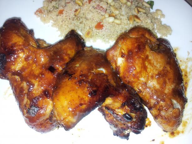Baked Hoisin Sauce Chicken Wings Recipe - Genius Kitchen