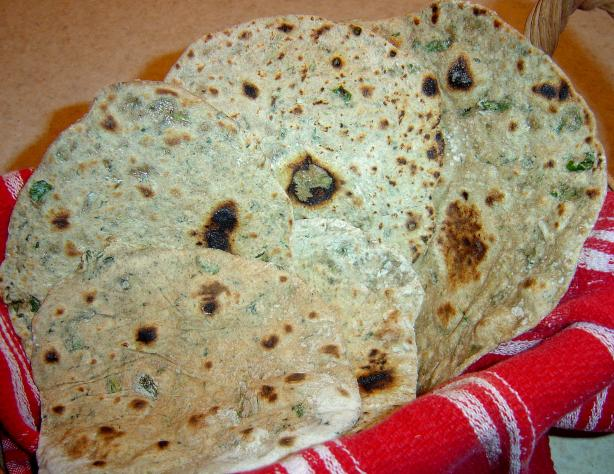Chapati (Indian Flat Bread). Photo by Sue Lau