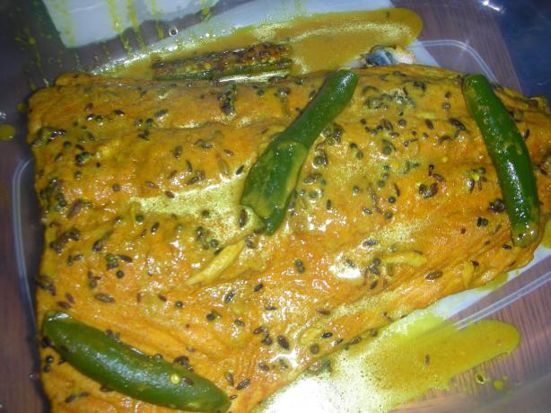 Salmon In Bengali Mustard Sauce Recipe - Food.com
