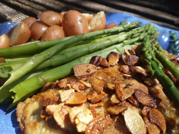 Trout Amandine, Steamed Asparagus And New Potatoes Recipe - Food.com