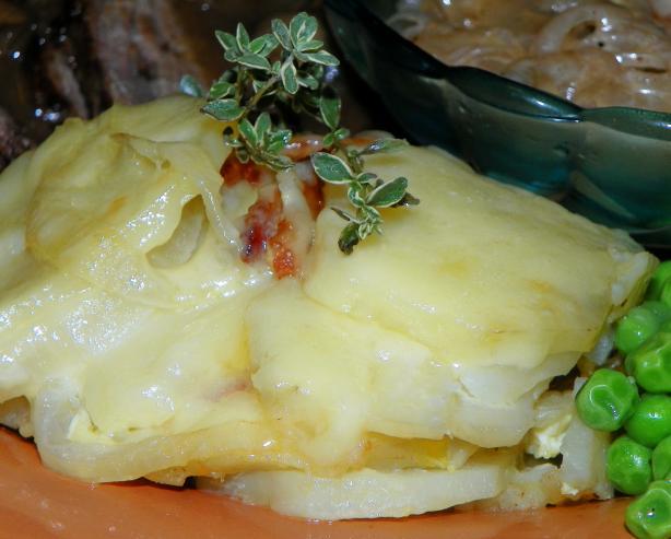Aragonese potatoes au gratin patatas gratinadas de aragon for Aragonese cuisine