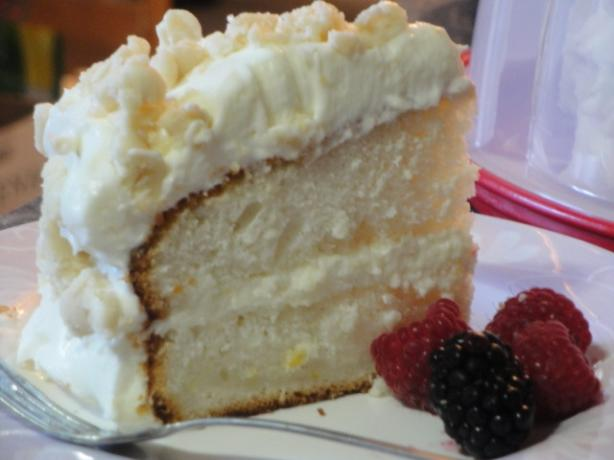Lemon Cream Cake (Olive Garden). Photo by Muffin Goddess