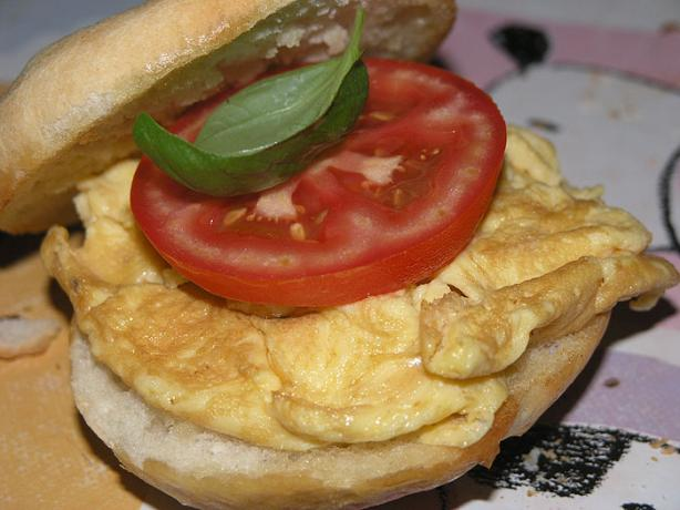 Nitko's Egg and Tomato Sandwich. Photo by nitko