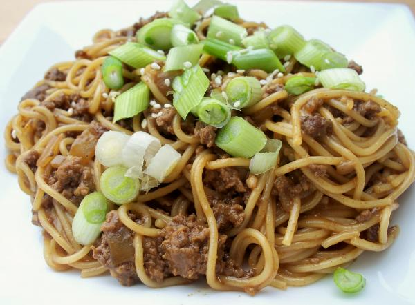 Taiwanese Noodles With Meat Sauce Recipe (Taiwanese Spaghetti) Recipes ...