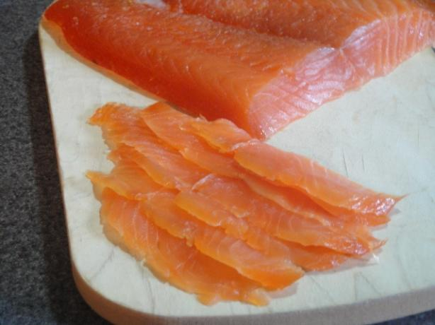 Citrus-Cured Salmon. Photo by Muffin Goddess