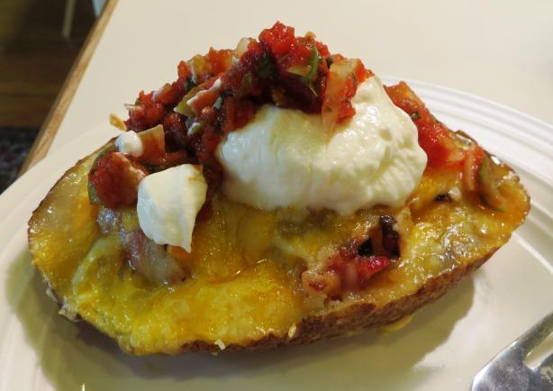 Breakfast Potato Skins Recipe - Food.com