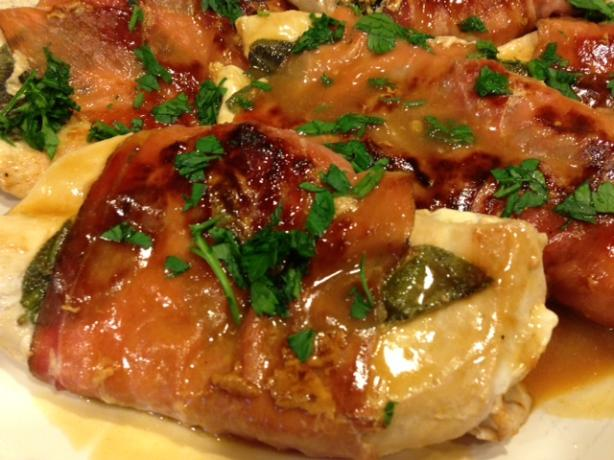Lighter Chicken Saltimbocca Recipes — Dishmaps